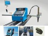 constructeur portatif de coupeur de flamme de plasma de commande numérique par ordinateur (piste en acier)