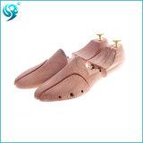 木の靴の木を広告するロゴOEM Laseringのヒマラヤスギの木製の習慣