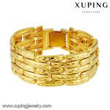 74489 Luxus-Gold-Plated Kostüm-Schmucksache-Form-Armband für Frauen