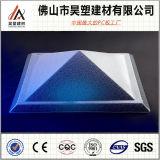 Hoja clara de Sun del tragaluz del policarbonato para el material para techos