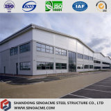Multi-Storey Steel Frame Building for Workshop with Office
