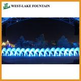 Grande fontana di Dancing dell'acqua di musica del laser allo sbarco del Vietnam Nha Trang Vinpearl
