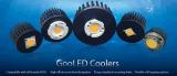Refrigerador flexible de la aleta del Pin de los orificios de montaje LED con el diámetro 58m m (GooLED-5830)