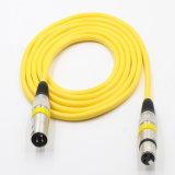 Kleurrijke Legering 3pin van het Zink Kabel XLR voor Elektrische Gitaar