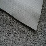 estera doble del suelo del PVC del color 3G con el forro del diamante