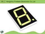 Único indicador de diodo emissor de luz do segmento do dígito 7