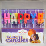 Neue Art-Fantasie-Geburtstag-Kuchen-Kerzen