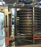 Doppia macchina a spirale del congelatore del pettine IQF/congelatore