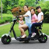 Motocicleta eléctrica de la vespa de la movilidad de la vespa de Citycoco Harley con la batería de litio
