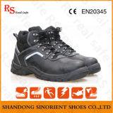 Schoenen van de Veiligheid van het Leer Pu van de koe de Gespleten Enige Bos (RS5850)