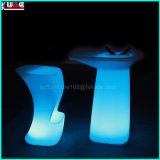 Patio LED Furniture en plastique LED PE Furniture Atmosphere Furniture