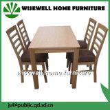 Cadeira de jantar traseira da escada da madeira de carvalho (W-C-571)