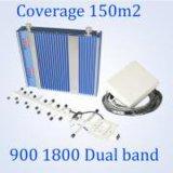 Beste GSM van de dubbel-Band van de Verkoop Repeater 900 van DCS de Spanningsverhoger van het Signaal van de Telefoon van 2100 Cel