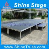 AluminiumOutdoor Concert Stage Adjustable Stage Platform Brücke Stage für Sale
