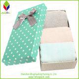 Коробка упаковки картона сладостного печатание твердая для полотенца хранения