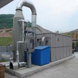 Épurateur de gaz de tour de purification de gaz de FRP GRP