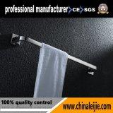 Crémaillère/barre simples de salle de bains d'essuie-main de rangée d'acier inoxydable du modèle 304 de mode