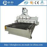 Máquina de madeira do router do CNC dos multi eixos com acessório giratório
