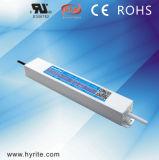 электропитание водителя ультра тонкое IP67 СИД 100W DC24V СИД с высоким PF EMC