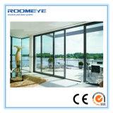 Portes coulissantes en aluminium de Roomeye (glace isolée)