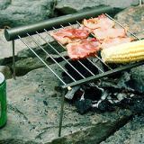 BBQ Grill Tool de Portable et de Knock Down Stainless Steel Camping Charcoal