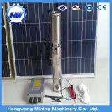 Bomba de água solar submergível de alta pressão da C.C. do fluxo elevado 12V 24V