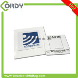 Etiqueta engomada imprimible del espacio en blanco NFC de la escritura de la etiqueta del papel o del PVC NFC
