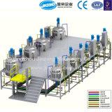 Chaîne de production automatique de détergent liquide de machines de Jinzong fournisseur de machines de mélangeur