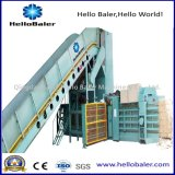 Presse de emballage hydraulique horizontale de machine/papier de rebut