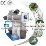 Alimentación de los cerdos que hace las máquinas de la nodulizadora