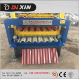 機械を形作るDx828/850によって波形を付けられる鋼鉄のおよび艶をかけられたタイルの二重層ロール