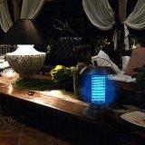 La lámpara accionada solar del jardín del fallo de funcionamiento LED del mosquito mata insectos