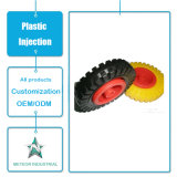 Het aangepaste Plastic Afgietsel van de Injectie van het Wiel van de Delen van het Meubilair van Producten Plastic