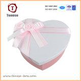 Caixa de empacotamento do presente encantador da forma do coração & saco de papel