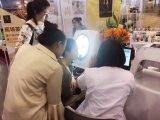 Analisador de madeira da pele da lâmpada para o salão de beleza Ld6021c da beleza
