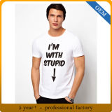 Magliette grafiche Nizza del cotone dell'OEM per gli uomini