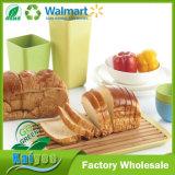 Eliminar-Tipo verde que va tarjeta de pan de bambú de la fibra con la base