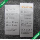 Etiqueta impressa da tela cetim feito sob encomenda para a roupa