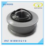 Heißes Brunnen-Licht der Verkaufs-12W IP68 LED mit Edelstahl-Karosserie