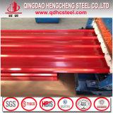 SGCC strich galvanisiertes gewölbtes Stahldach-Blatt vor