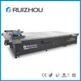 Automatischer führender CNC lederne Ausschnitt-Maschinen-Scherblock-Maschine