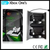 4 in 1 Ladestation mit Kühlventilator USB-Naben-Adapter-Kühlvorrichtung-Ventilatoren für xBox eins S Spiel-Konsole u. Controller-Zusatzgerät