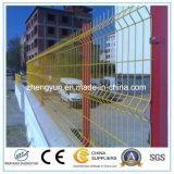 중국 공급자 PVC에 의하여 입히는 용접된 철망사 담, 철망사 담