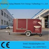 De automatische Hete Verkoop van de Aanhangwagen van de Keuken van het Systeem Mobiele