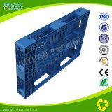 Pálete plástica do racking da cor azul para a pálete plástica dura logística