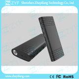 côté externe d'alimentation par batterie du port USB 11000mAh 4 avec la torche Emergency (ZYF8081)