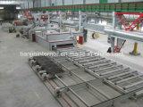 Riga di granigliatura della rotella di conservazione del piatto d'acciaio