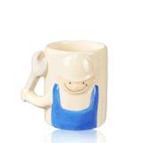 Tazza di caffè fredda divertente su ordinazione di ceramica della tazza di tè della novità
