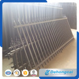Haltbarer kurzer Sicherheits-bearbeitetes Eisen-Zaun Dhfence-25 ()
