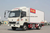Vrachtwagen van het Lichaam van China de Merk Gekoelde KoelTruck/Refrigerator Van